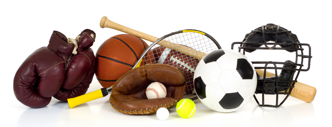 ... Performance Through Sports Psychology » Sports Equipment on White