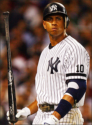 alex rodriguez new york yankee