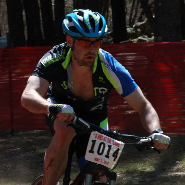 State 9 Racing's Adam Dodge fights through the sixth hour of Burlingame in Rhode island, to earn a top 20 finish on the day. May 2015